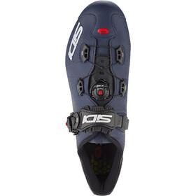 Sidi Wire 2 Carbon Schoenen Heren, matt blue/black